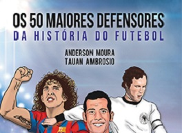 Obra com perfis de várias lendas do futebol é lançada